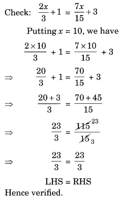 NCERT Solutions for Class 8 Maths Chapter 2 Linear Equations in One Variable Ex 2.3 Q8