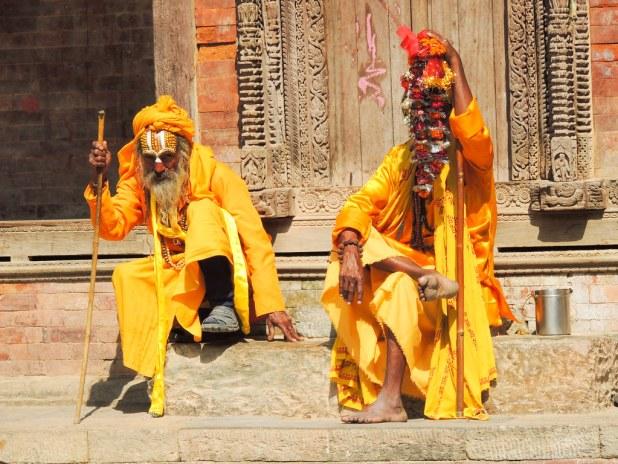 Imágenes típicas de Nepal
