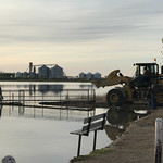Mooreton Pond Dock Installation