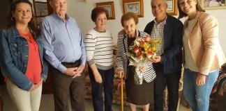 La abuela de Teror Maximina Nuez cumple 105 años de edad