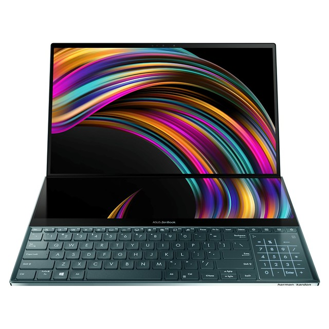 ZenBook Pro 15_UX581_Product photo_ScreenPad Plus
