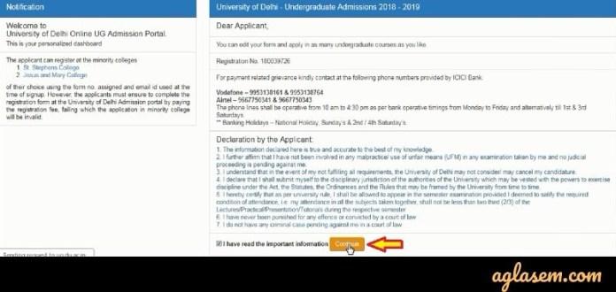Important Instructions for DU Form