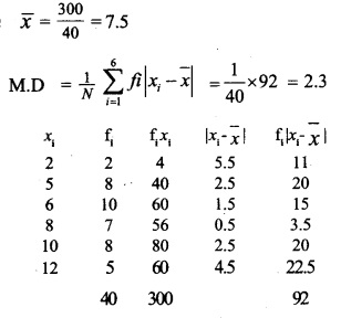 HSSlive Plus One Maths Chapter Wise Questions and Answers Chapter 15 Statistics 34