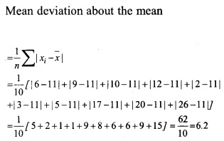 HSSlive Plus One Maths Chapter Wise Questions and Answers Chapter 15 Statistics 4