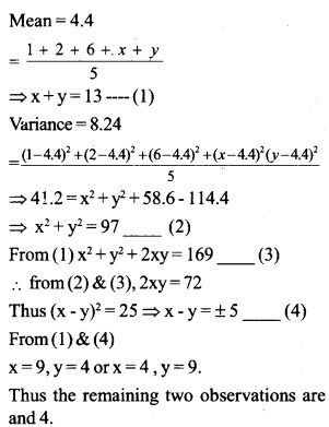 HSSlive Plus One Maths Chapter Wise Questions and Answers Chapter 15 Statistics 51