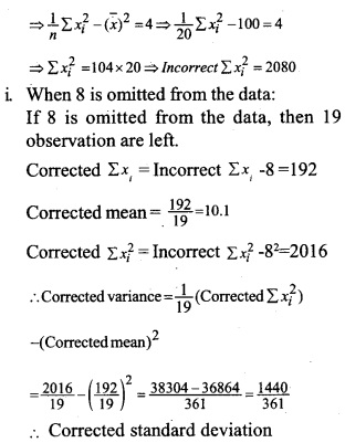 HSSlive Plus One Maths Chapter Wise Questions and Answers Chapter 15 Statistics 53