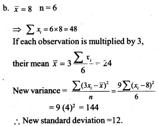 HSSlive Plus One Maths Chapter Wise Questions and Answers Chapter 15 Statistics 19