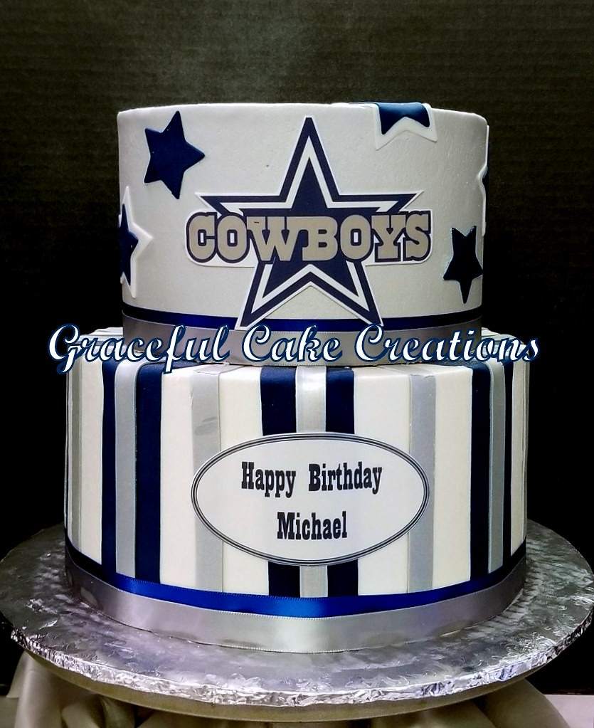 Dallas Cowboys Birthday Cake Grace Tari Flickr