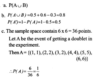 HSSlive Plus One Maths Chapter Wise Questions and Answers Chapter 16 Probability 14