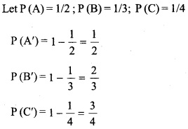 HSSlive Plus One Maths Chapter Wise Questions and Answers Chapter 16 Probability 1