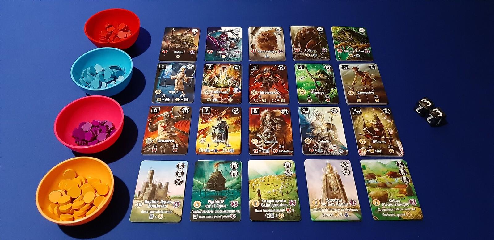 Valeria Reino de Cartas juego de mesa