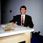 Wolfgang Laubersheimer Tisch Rheingold 1989