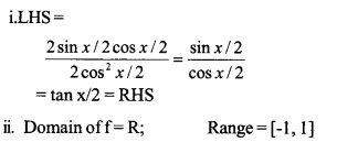 HSSlive Plus One Maths Chapter Wise Previous Questions Chapter 3 Trigonometric Functions 35