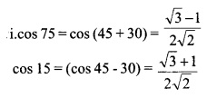 HSSlive Plus One Maths Chapter Wise Previous Questions Chapter 3 Trigonometric Functions 36