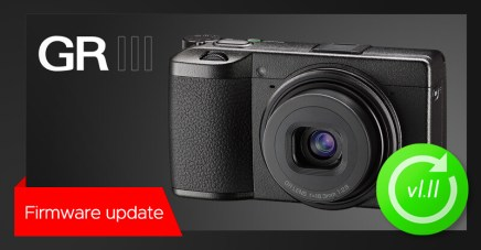 New firmware update v1.11 for RICOH GR III