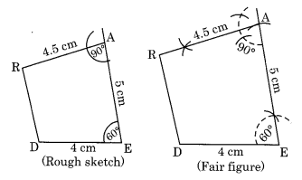 NCERT Solutions for Class 8 Maths Chapter 4 Practical Geometry Ex 4.4 Q1