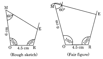NCERT Solutions for Class 8 Maths Chapter 4 Practical Geometry Ex 4.3 Q1