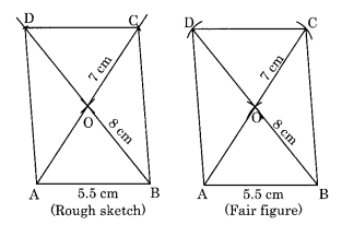 Practical Geometry NCERT Extra Questions for Class 8 Maths Q8