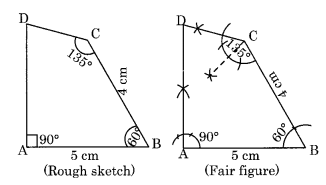 Practical Geometry NCERT Extra Questions for Class 8 Maths Q7