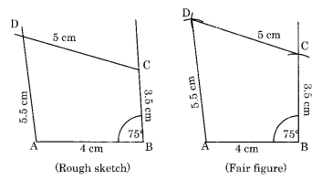 Practical Geometry Class 8 Extra Questions Maths Chapter 4