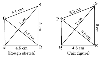 Practical Geometry NCERT Extra Questions for Class 8 Maths Q1