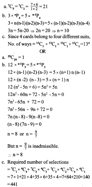 HSSlive Plus One Maths Chapter Wise Previous Questions Chapter 7 Permutation and Combinations 5