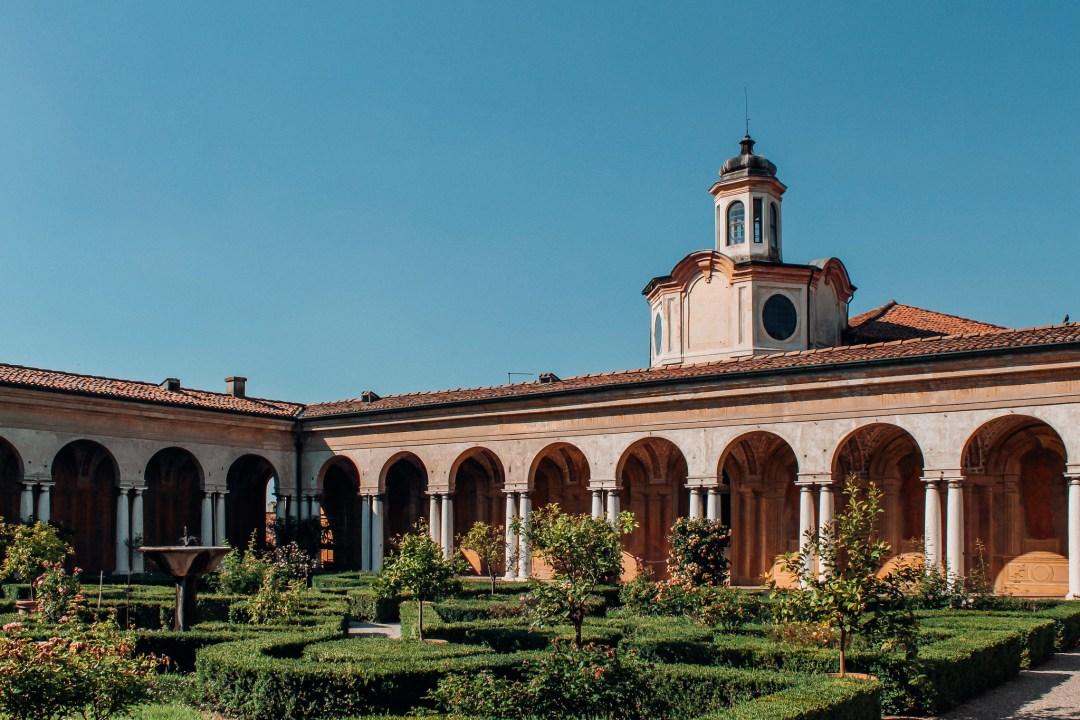 Giardino dei Semplici, Palazzo Ducale, Mantova