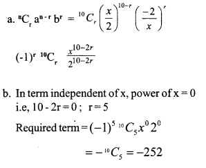 HSSlive Plus One Maths Chapter Wise Previous Questions Chapter 8 Binomial Theorem 13