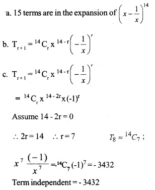 HSSlive Plus One Maths Chapter Wise Previous Questions Chapter 8 Binomial Theorem 10