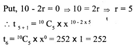HSSlive Plus One Maths Chapter Wise Previous Questions Chapter 8 Binomial Theorem 5