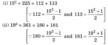 Squares and Square Roots NCERT Extra Questions for Class 8 Maths Q6