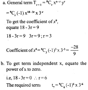 HSSlive Plus One Maths Chapter Wise Previous Questions Chapter 8 Binomial Theorem 17
