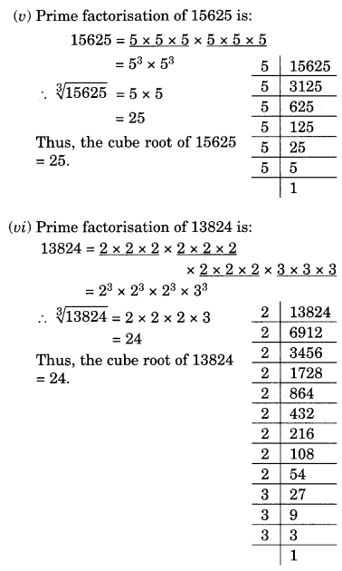 NCERT Solutions for Class 8 Maths Chapter 7 Cubes and Cube Roots Ex 7.2 Q1.3