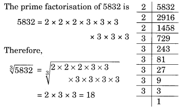 Cubes and Cube Roots NCERT Extra Questions for Class 8 Maths Q9