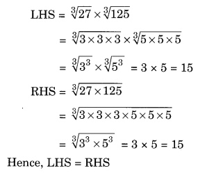 Cubes and Cube Roots NCERT Extra Questions for Class 8 Maths Q10.1