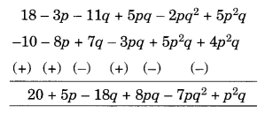 NCERT Solutions for Class 8 Maths Chapter 9 Algebraic Expressions and Identities Q4.2