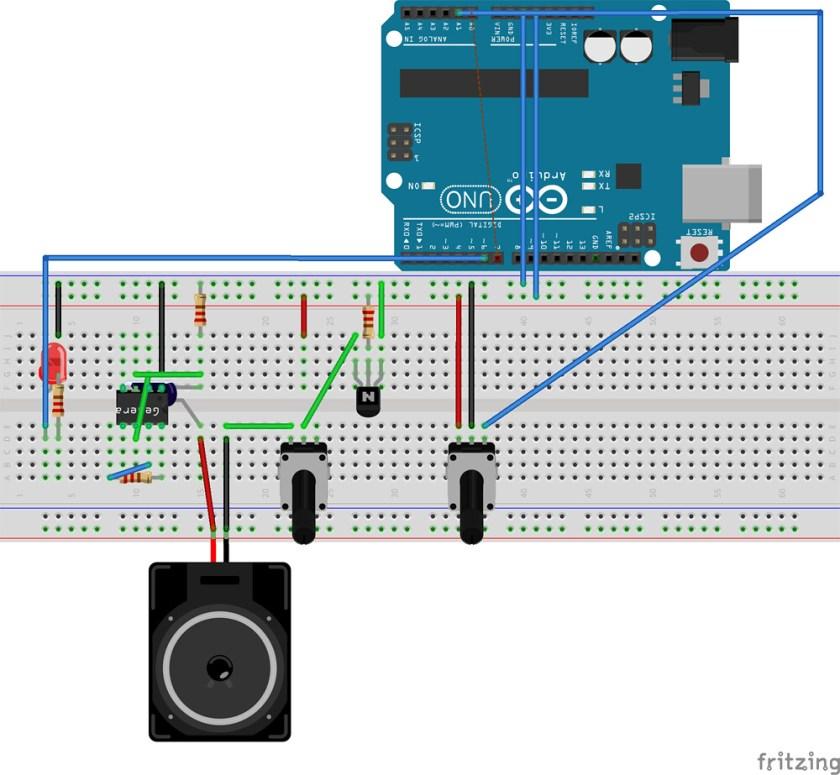 Echoendrus Arduino and NE555 project
