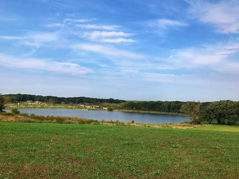 Camp Bullfrog Lake from East Pulaski Woods