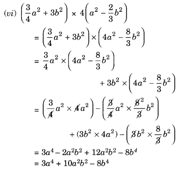 NCERT Solutions for Class 8 Maths Algebraic Expressions and Identities Ex 9.4 Q1