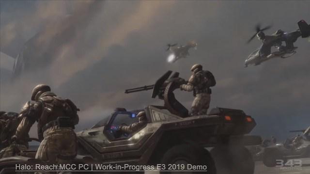 PC MCC Halo Reach - Démo E3 2019