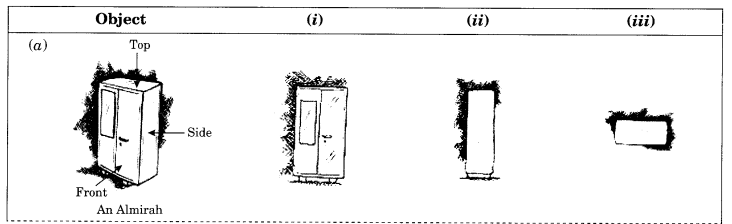 NCERT Solutions for Class 8 Maths Chapter 10 Visualising Solid Shapes Q2