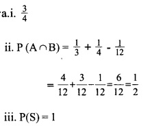 HSSlive Plus One Maths Chapter Wise Previous Questions Chapter 16 Probability 3