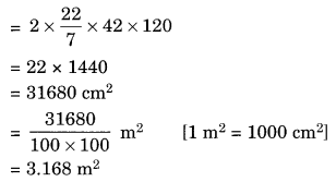 Mensuration NCERT Extra Questions for Class 8 Maths Q19