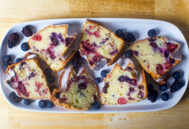 triple berry summer buttermilk bundt