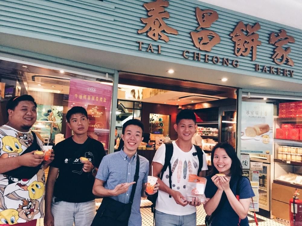 5 Nov 2015: Tai Cheong Bakery @ Lyndhurst Terrace | Central, Hong Kong
