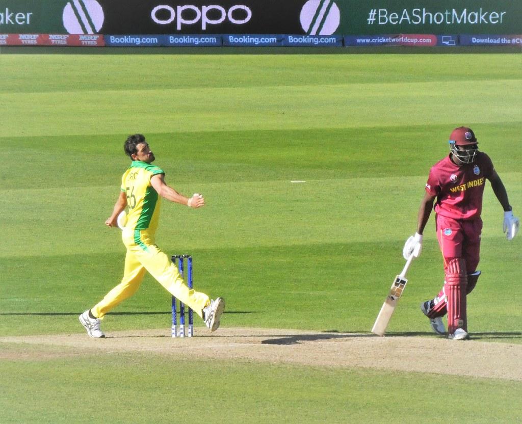 Cricket World Cup, Australia v West Indies