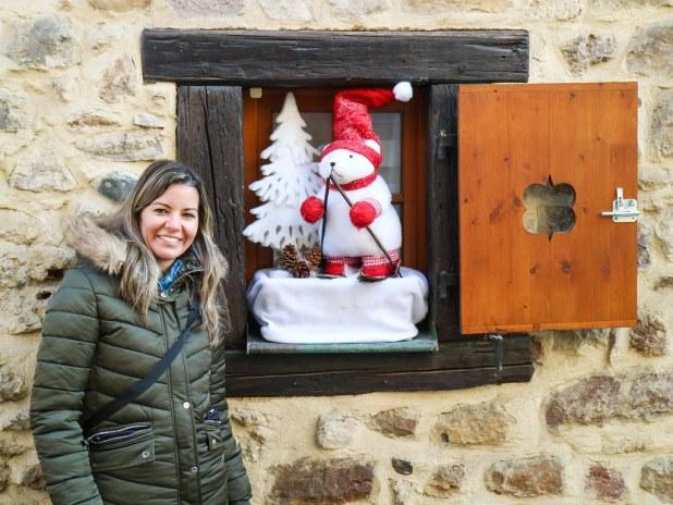 Visita a Eguisheim en navidad