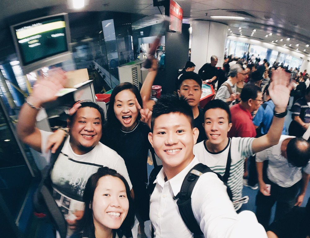 6 Nov 2015: Hong Kong - Macau Ferry Terminal | Hong Kong, China