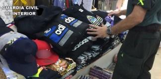 La Guardia Civil detiene a tres personas por sendos delitos contra la propiedad Industrial