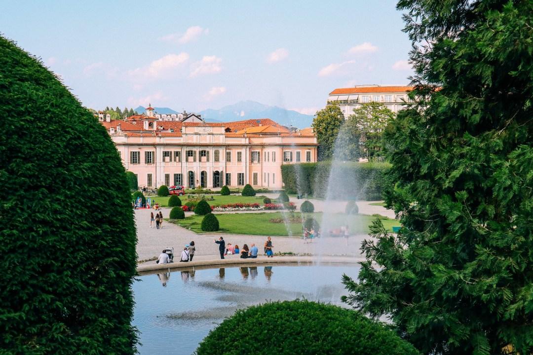 Giardini Estensi, Varese